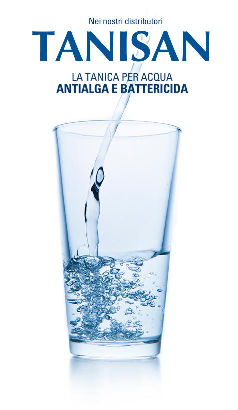 Tanisan - la tanica per acqua - antialga e battericida